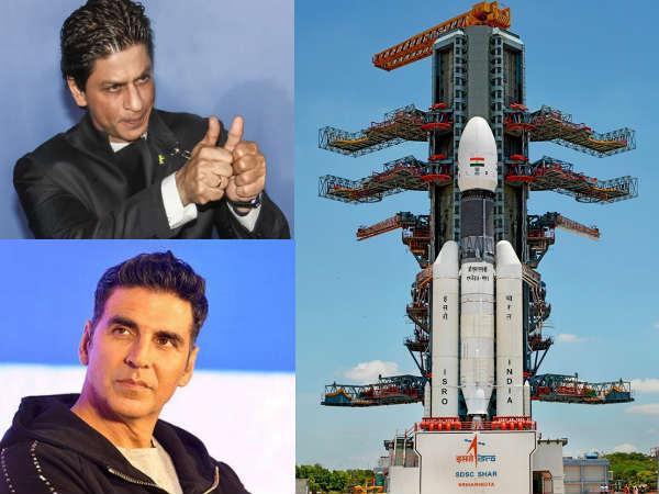 #Chandrayaan2- चांद पर लहराया तिरंगा- शाहरुख से लेकर अक्षय तक- बॉलीवुड मे खुशी की लहर