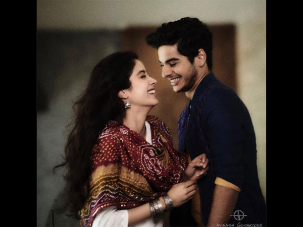 Janhvi Kapoor and Ishaan Khatter