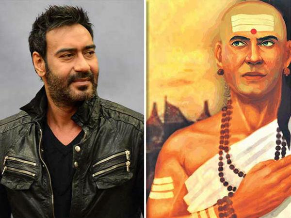 'चाणक्य' में अजय देवगन करेंगे डबल धमाका, ऐसा होगा लुक, इंतजार मुश्किल !