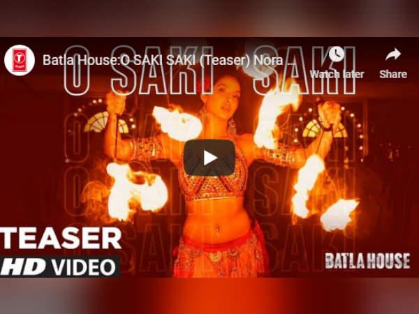 बाटला हाउस से 'साकी साकी' Song रिलीज- नोरा फतेही ने लगाई आग लेकिन भड़क गईं ये अभिनेत्री