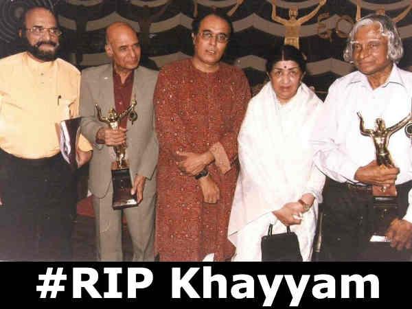खय्याम के निधन से टूट गईं लता मंगेशकर, रूके ही नहीं ट्वीट, बॉलीवुड ने दी भावुक श्रद्धांजलि