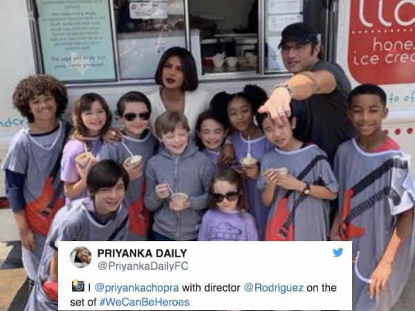 प्रियंका चोपड़ा की हॉलीवुड फिल्म We Can Be Heroes का फर्स्ट लुक, छोटे बालों में आईं नज़र