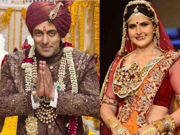 """""""मैं चाहती हूं सबको पता चल जाए कि सलमान खान मुझसे शादी कर रहे हैं!"""" - ज़रीन खान"""