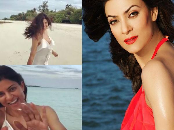 मालदीव में दिलकश अंदाज में नजर आईं सुष्मिता सेन- वायरल Video ने मचाया हंगामा