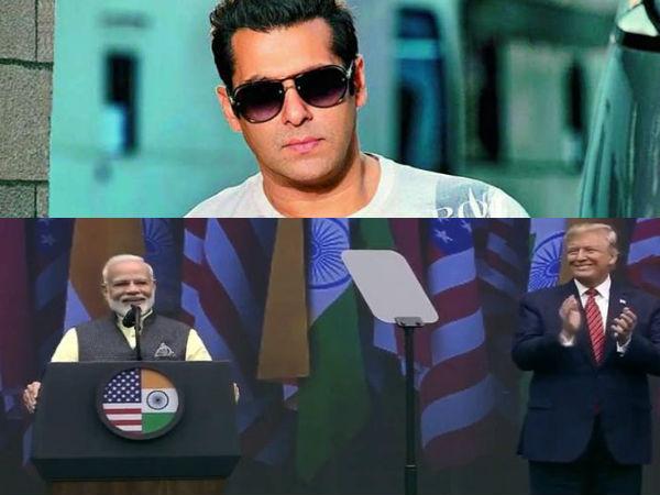 Howdy Modi- मोदी-ट्रंप की दोस्ती देख खुद को नहीं रोक पाए सलमान खान- इन सितारों ने भी किया Tweet