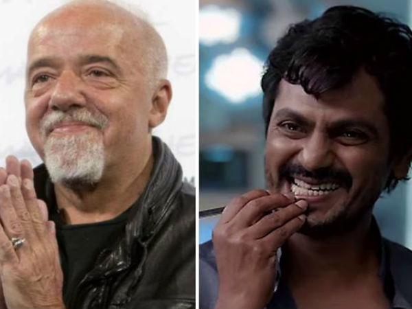 लेखक पाउलो कोएलो ने नवाजुद्दीन सिद्दीकी को बताया महान अभिनेता- सेक्रेड गेम्स को बताया बेस्ट सीरीज