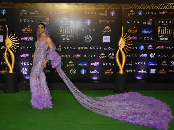 #IIFA2019: दीपिका पादुकोण का क्वीन अवतार तो राजकुमारी बनीं आलिया, देखिए ग्रीन कार्पेट Pics