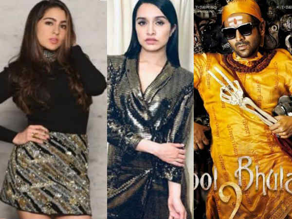sara-ali-khan-and-shraddha-kapoor-approached-for-kartik-aaryan-s-bhool-bhulaiyya-remake