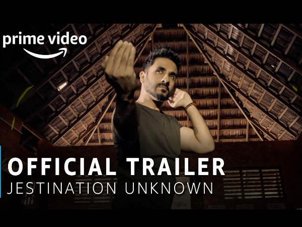 """अमेज़ॅन प्राइम वीडियो ओरिजिनल की आगामी श्रृंखला """"जेस्टिनेशन अननोन"""" का ट्रेलर हुआ रिलीज!"""