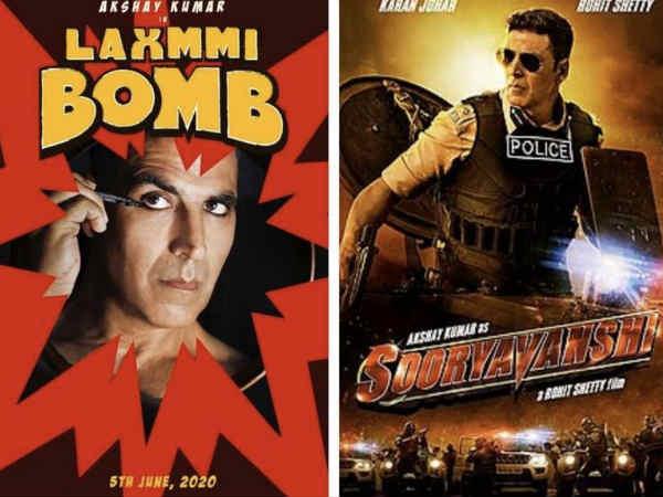 फैंस को लगेगा झटका, अक्षय कुमार की 'सूर्यवंशी' - 'लक्ष्मी बॅाम्ब' को लेकर आया बड़ा फैसला !