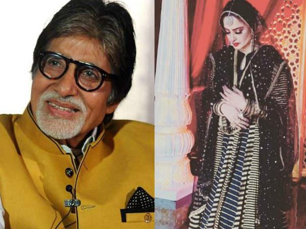 अमिताभ बच्चन के जन्मदिन पर दुल्हन की तरह तैयार हुईं रेखा- तस्वीरें देखकर चौंक जाएंगे आप!