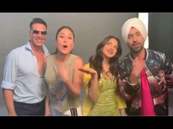 हाउसफुल 4- अक्षय कुमार ने 'गुड न्यूज' के कलाकारों के साथ पूरा किया 'बाला' चैलेंज- Video