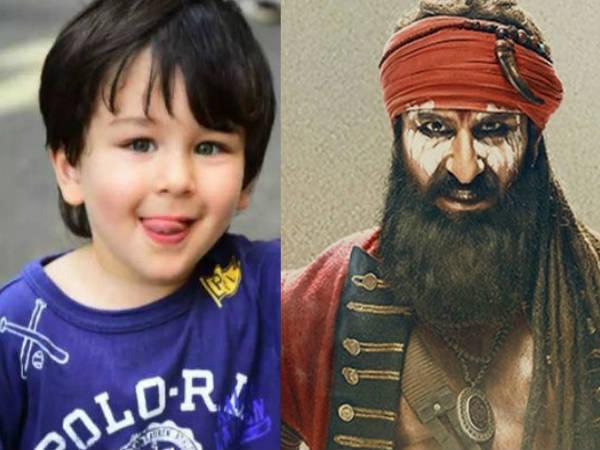 दिन में दो बार लाल कप्तान का Trailer देखता है तैमूर- सैफ अली खान