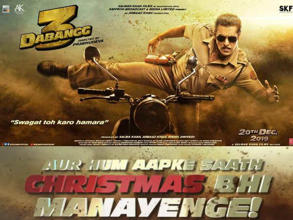 दबंग 3 के नए पोस्टर के साथ सलमान खान का एलान - अक्षय कुमार को खुला चैलेंज