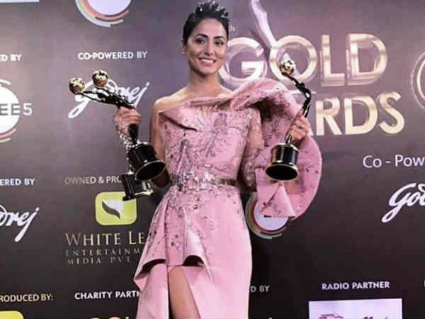 एक रात में चार अवार्ड्स जीतने के बाद हिना खान का नया खुलासा - मिल चुकी है बड़ी फिल्म