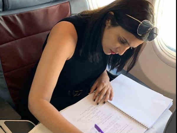 parineeti-chopra-reaches-hyderabad-for-saina-nehwal-biopic
