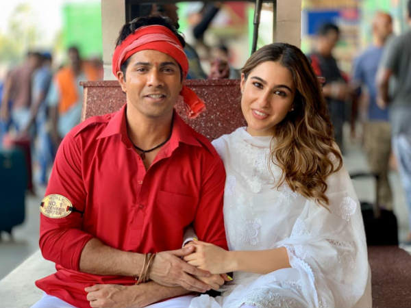 Coolie no 1- Varun dhawan's first look as Coolie - Hindi Filmibeat