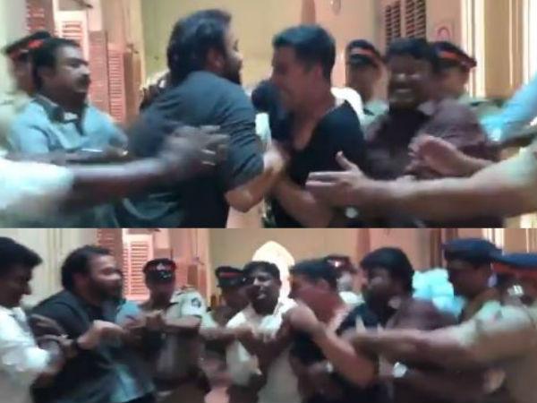 सूर्यवंशी- अक्षय कुमार और रोहित शेट्टी के बीच मारपीट का Video वायरल- ये खबर बनी विवाद वजह!