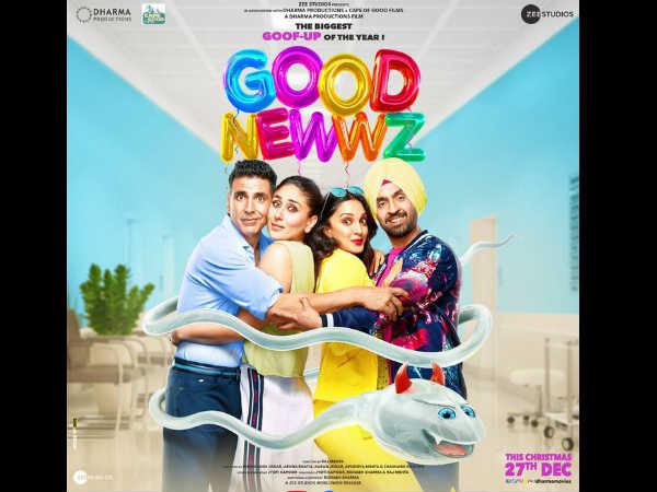 Good Newwz पोस्टर: ट्रेलर रिलीज से पहले, यहां देंखे अक्षय कुमार- करीना कपूर का मजेदार अंदाज