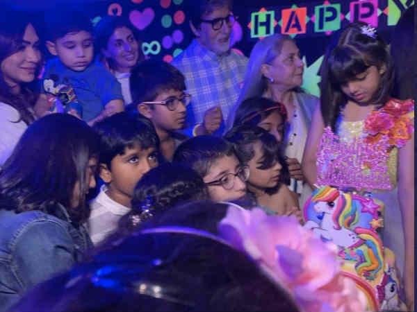 PICS: आराध्या बच्चन की बर्थ डे पार्टी में झूला झूलते दिखे अभिषेक - ऐश्वर्या सहित बाकी मेहमान