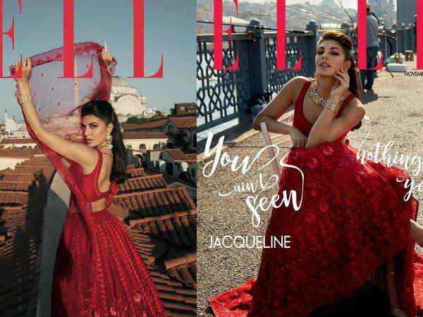 जैकलीन फर्नांडीज ने एक लीडिंग मैगज़ीन के कवर पर बिखेरा अपनी खूबसूरती का जादू- Pics