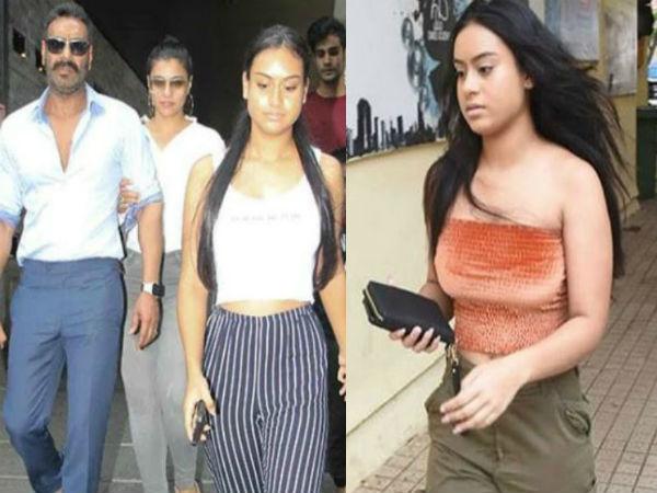 अजय देवगन की बेटी न्यासा ने मंदिर में पहने ऐसे कपड़े लोगों ने कहा, पिताजी थप्पड़ मार देते