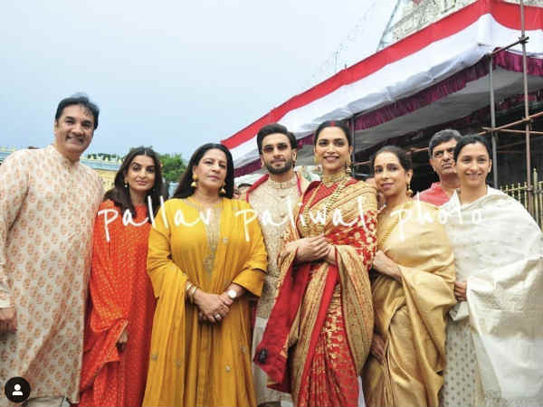 pics-ranveer-singh-deepika-padukone-at-tirupati-balaji-with-family-on-first-anniversary