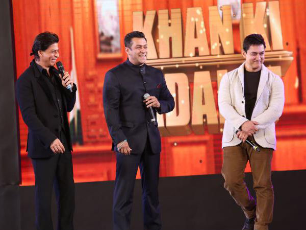 आमिर, सलमान और शाहरुख खान एक साथ, जल्द होगा बड़ी फिल्म का ऐलान, तगड़ी खबर !