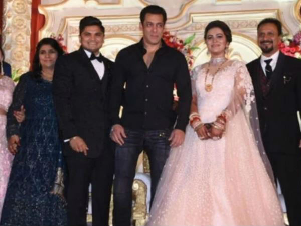 सलमान खान अचानक पहुंचे मेकअप आर्टिस्ट के बेटे की शादी में- दरियादिली की फिर हुई तारीफ
