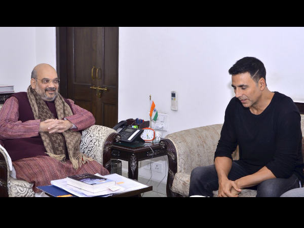 अक्षय कुमार ने गृह मंत्री अमित शाह को दी एक जरूरी सलाह- प्रधानमंत्री मोदी पर भी की बात