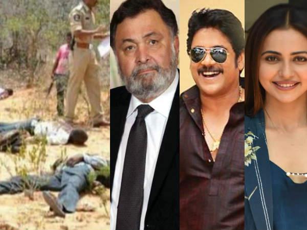 हैदराबाद एनकाउंटर- ऋषि कपूर समेत बॉलीवुड के इन सितारों ने जताई खुशी- कर डाले ऐसे ट्वीट्स