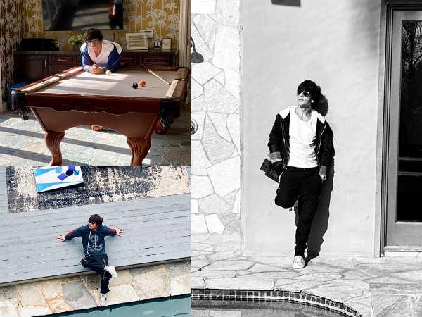 कैलिफोर्निया से शाहरुख खान शेयर की शानदार तस्वीरें- जानिए किसका इंतजार कर रहे थे किंग खान