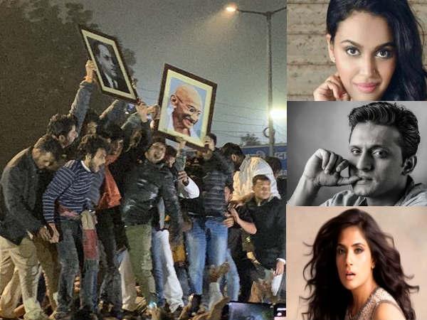 नागरिकता कानून विरोध- दिल्ली जामिया के छात्रों पर पुलिस ने बरसाए डंडे तो बोल पड़े ये बॉलीवुड सितारे