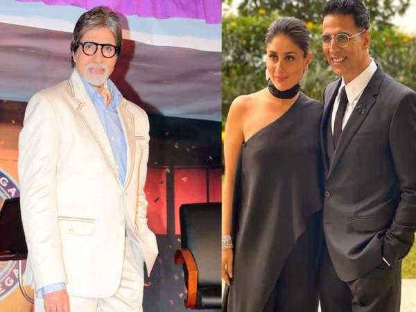 करीना कपूर खान ने अक्षय कुमार की तुलना अमिताभ बच्चन से की- बोली इतनी बड़ी बात