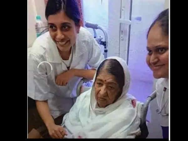 अस्पताल से वायरल हुई लता मंगेशकर की तस्वीरें, दिलीप कुमार ने छोटी बहन को दी हिदायत