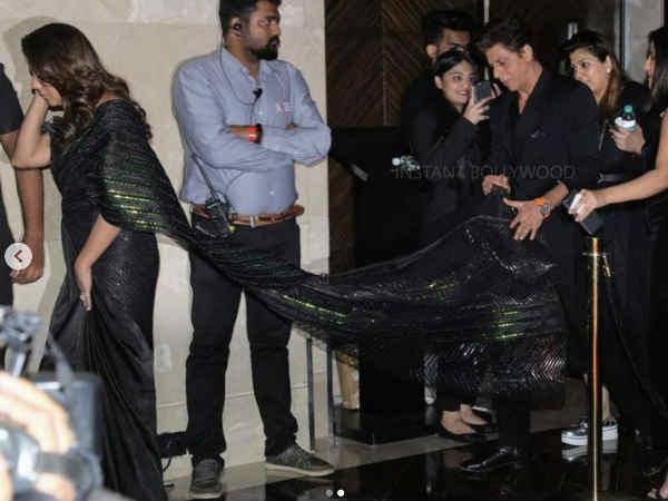 Pic of the Day: गौरी खान का पल्लू पकड़ कर चलते रहे शाहरूख खान, हर जगह वायरल तस्वीरें
