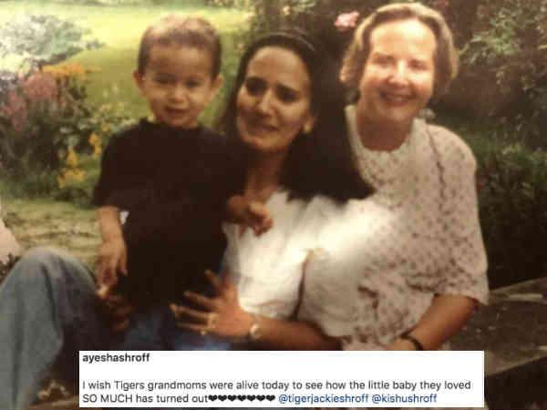 Pic Of The Day: टाईगर श्रॉफ की मां ने शेयर की दादी के साथ बचपन की तस्वीर, तेज़ी से हो रही है वायरल
