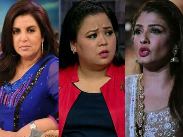रवीना टंडन, फराह खान और भारती सिंह पर एफआईआर दर्ज- लगा है ये गंभीर आरोप!