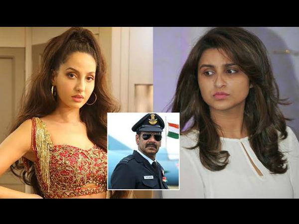 नोरा फतेही ने परिणीति चोपड़ा से छीन ली फिल्म- अजय देवगन की इस फिल्म में निभाएंगी दमदार किरदार