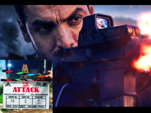 जैकलिन फर्नांडीज और जॉन अब्राहम करेंगे 'अटैक'- शुरु हुई धमाकेदार फिल्म की शूटिंग