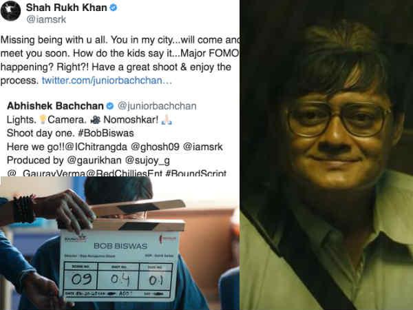 अभिषेक बच्चन ने शेयर की बॉब बिस्वास की झलक, शाहरूख खान ने कहा - ऑल द बेस्ट