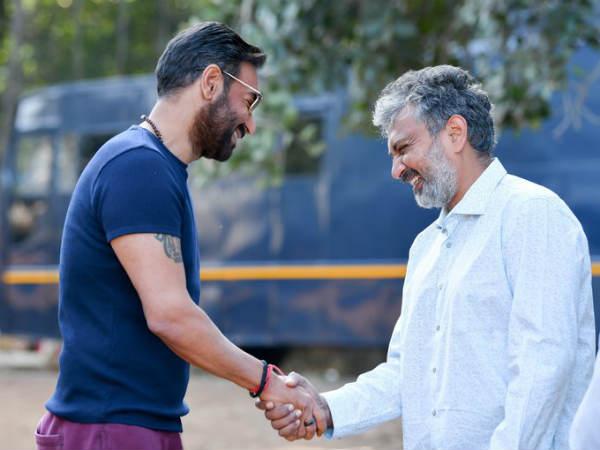 तान्हाजी के बाद, अजय देवगन ने शुरु की RRR की शूटिंग- राजामौली के साथ करेंगे धमाका