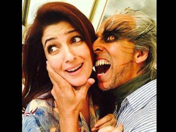 Photo- शादी की सालगिरह पर अक्षय कुमार ने पत्नी ट्विंकल खन्ना को दिया फनी सरप्राइज