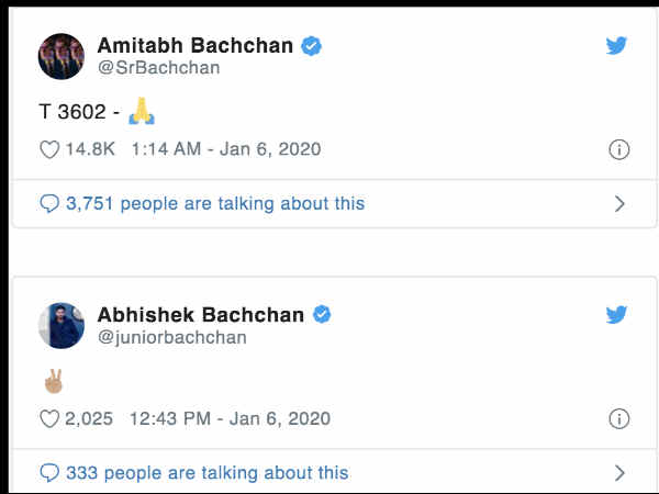 amitabh-bachchan-and-abhishek-bachchan-slammed-for-cryptic-tweets-over-JNU-terror-attack