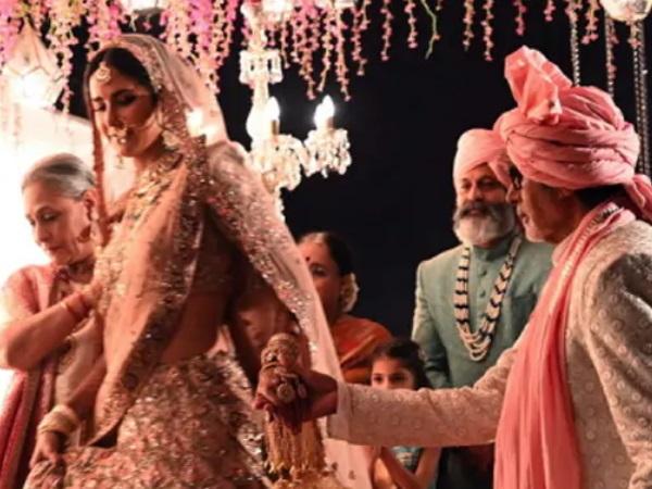 Pics: दुल्हन बनीं कैटरीना कैफ, पिता बन अमिताभ बच्चन ने किया कन्यादान- जानिए वायरल फोटोज का सच