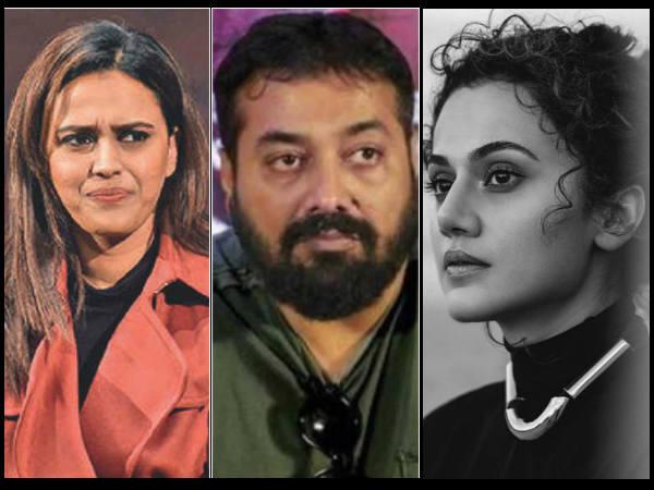 JNU Attack: कैंपस में हुई हिंसा पर भड़के अनुराग कश्यप, तापसी पन्नू, स्वरा भास्कर समेत बॉलीवुड कलाकार