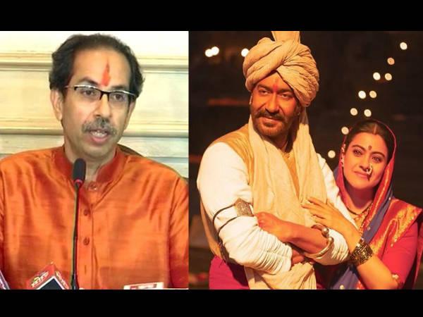 अजय देवगन ने उद्धव ठाकरे को किया ट्वीट- तानाजी टैक्स फ्री करने के लिए बोली ये बात