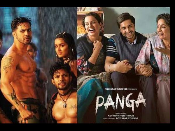Box Office:वरुण धवन की स्ट्रीट डांसर 3डी की करोड़ों की कमाई, कंगनाा की पंगा का बुरा हाल !