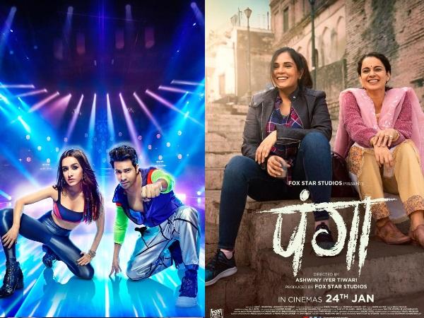 पंगा VS स्ट्रीट डांसर: वरुण धवन और कंगना रनौत की फिल्म में भिड़ंत, देखें किस फिल्म में कितना है दम