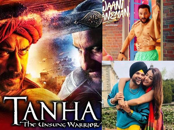 Box Office Prediction: अजय की तानाजी बनेगी सैफ के लिए खतरा, जवानी जानेमन के साथ 2 बड़ी रिलीज